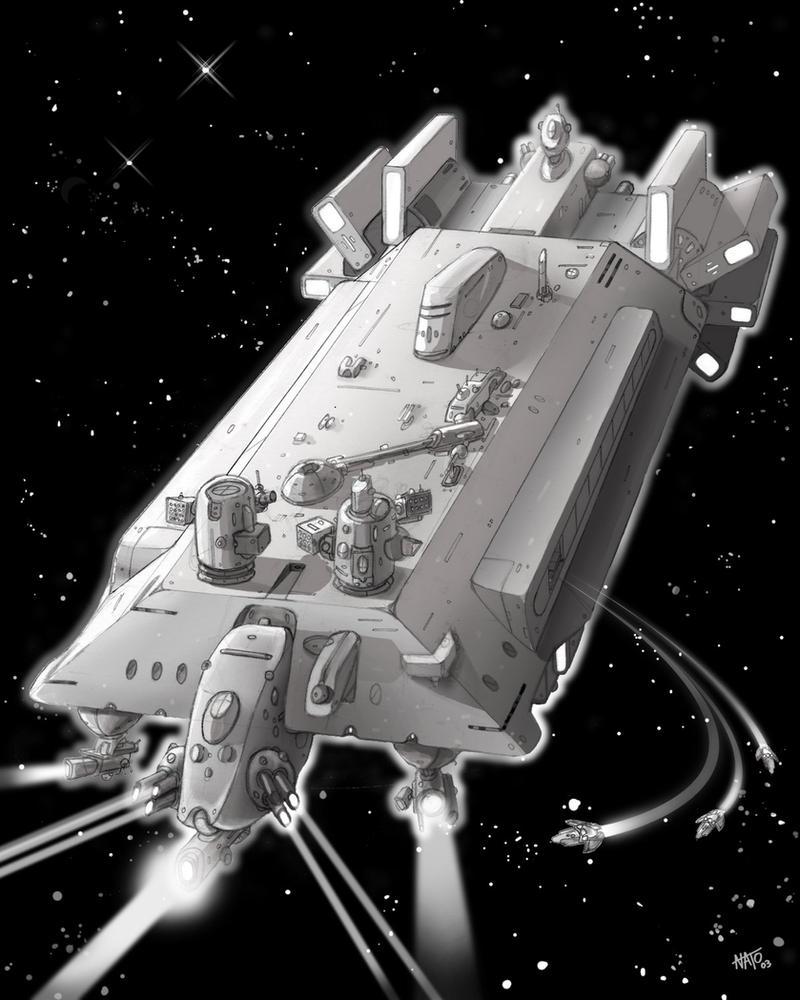 Big space ship concept by natebarnes on deviantart for 11553 sunshine terrace