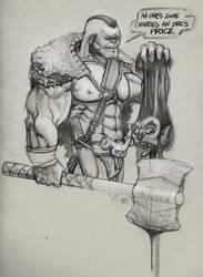 Grishnok the Barbarian
