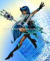 Zodiac Sailor of the Sea RQST by TechnoPoptart