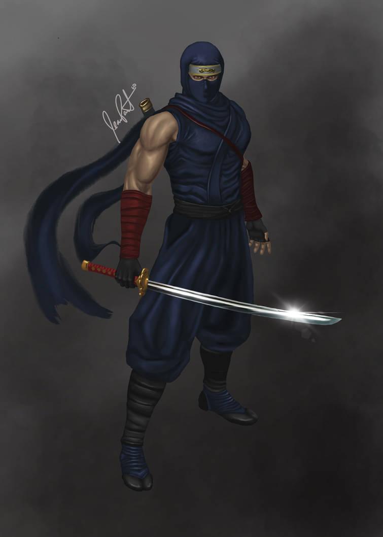 Ryu Hayabusa Ninja Gaiden By Freakles10 On Deviantart