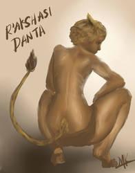 R'aksashi Danta by Sangre-Kersh