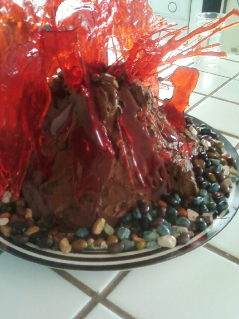 How To Make A Volcano Cake From Scratch