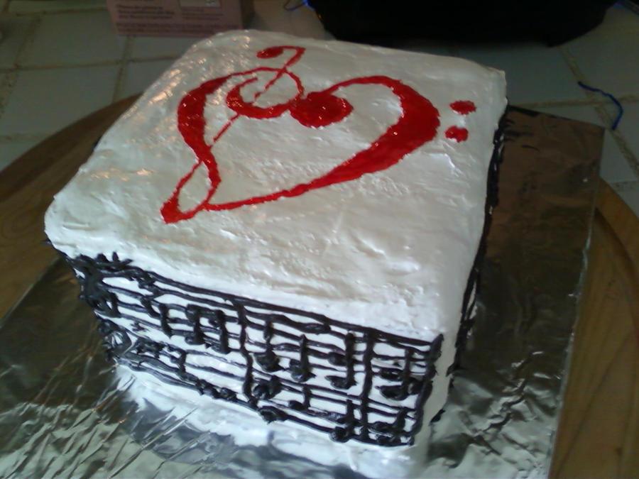 Happy Birthday Music Cake by BandGeek24 on DeviantArt