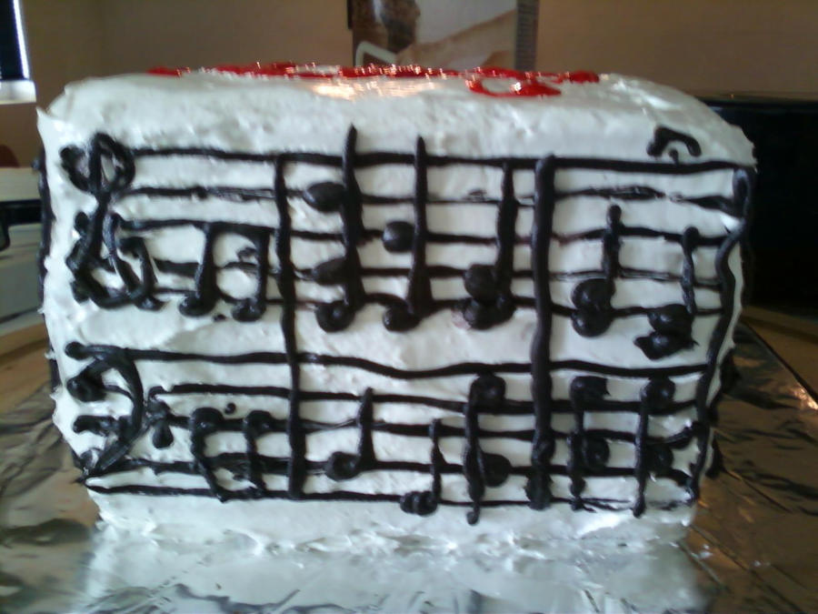 Happy Birthday Music Cake3 by BandGeek24 on DeviantArt