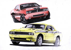 Dodge Challenger by Sooly