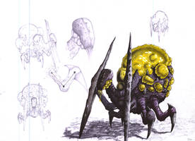 Zerg Toxic Wanderer Concept by Sooly