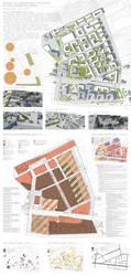 Urban plan, Warsaw Kamionek by Sooly