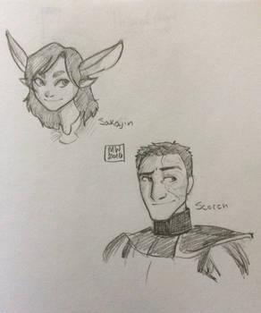 Commission: Sakajin and Scorch