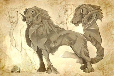 Sketch Raffle Prize by Xurryls