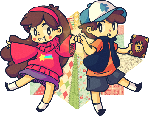gravity falls! by pepaaminto