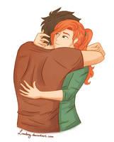 James needs a hug... by Linndsey