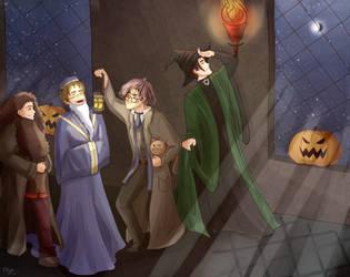 A Marauder Halloween by Linndsey