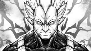Vegeta, Sayian Prince by TBoy85