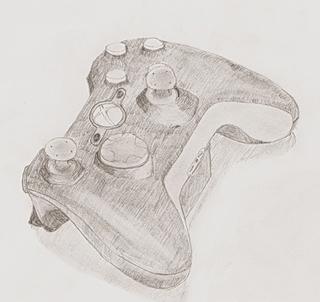 xbox 360 controller sketch - photo #46