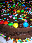Cake of delicious porpotions