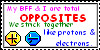 BFF Opposites Stamp by BFFOpposites1plz