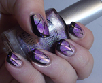 Duo Holographic butterfly wings