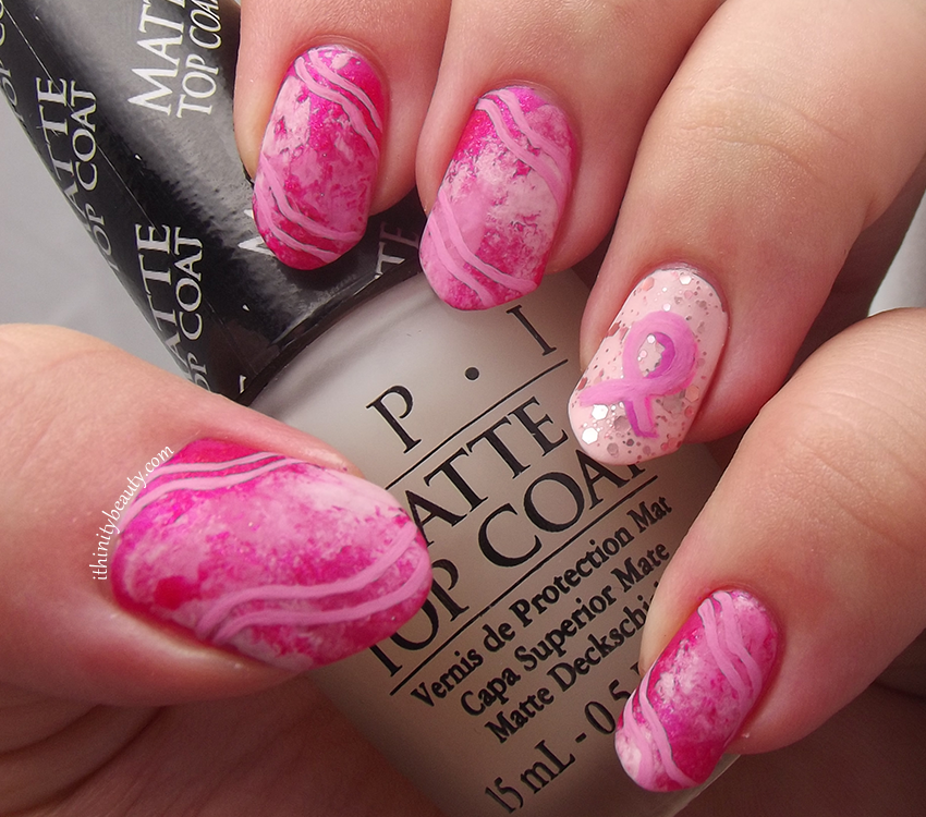 Pink Waves For Breast Cancer Awareness by Ithfifi