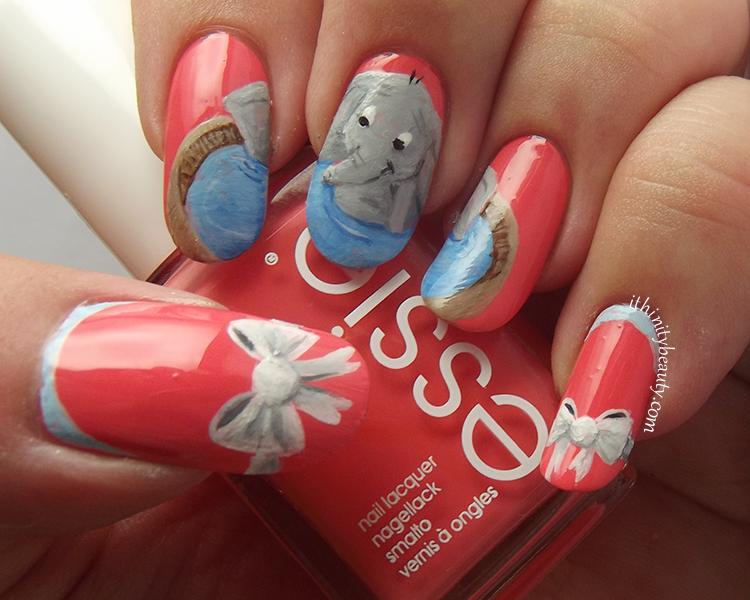 Dumbo Nail Art by Ithfifi