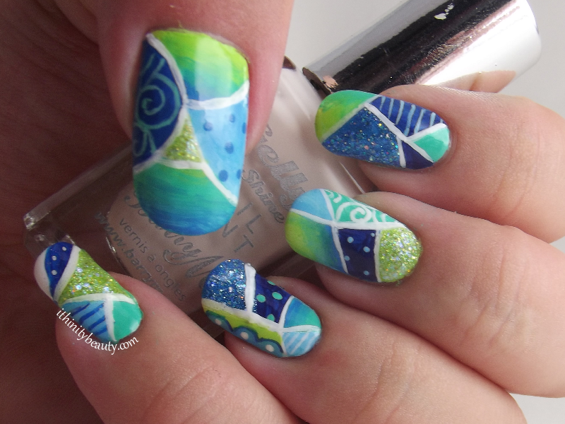 Mosaic Nails by Ithfifi