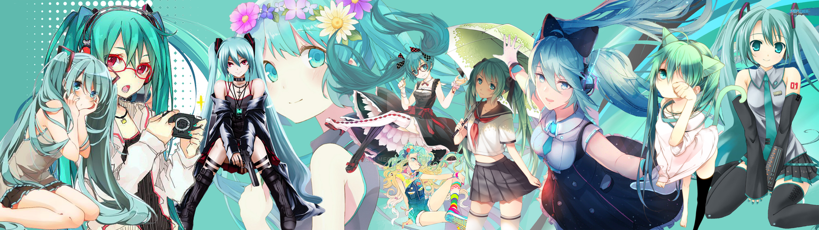 Wallpaper Hatsune Miku by CallmeGNAR