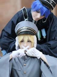 Kaito and Len senbonzakura