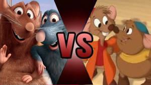 Death Battle Remy  Emile VS. Jaq  Gus