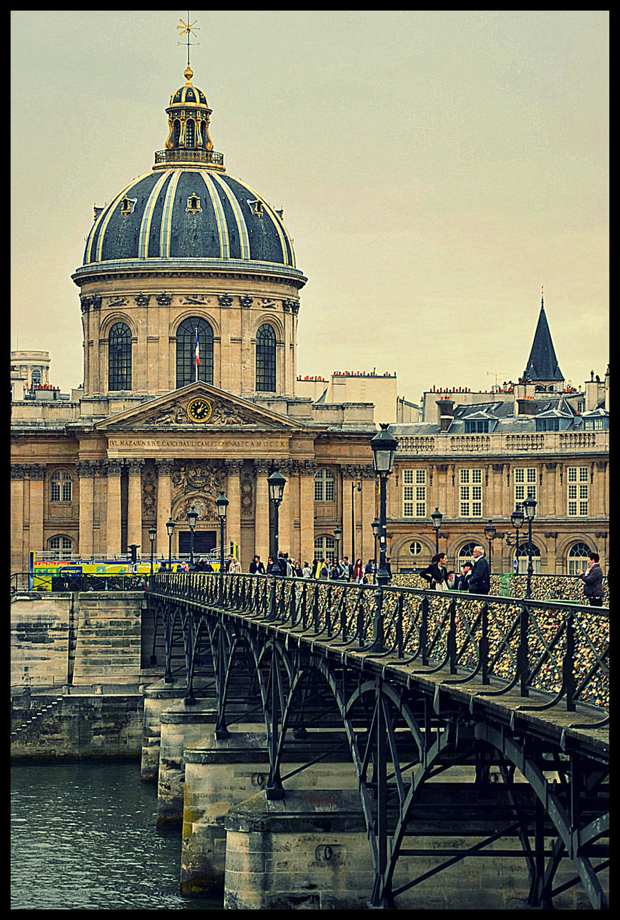 Paris - 14 - across seine river by etr-wroclove