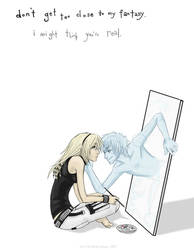 +Don't Get Too Close+ by nayruasukei
