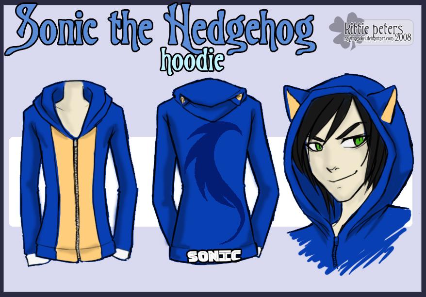 Sonic Hoodie By Nayruasukei On Deviantart
