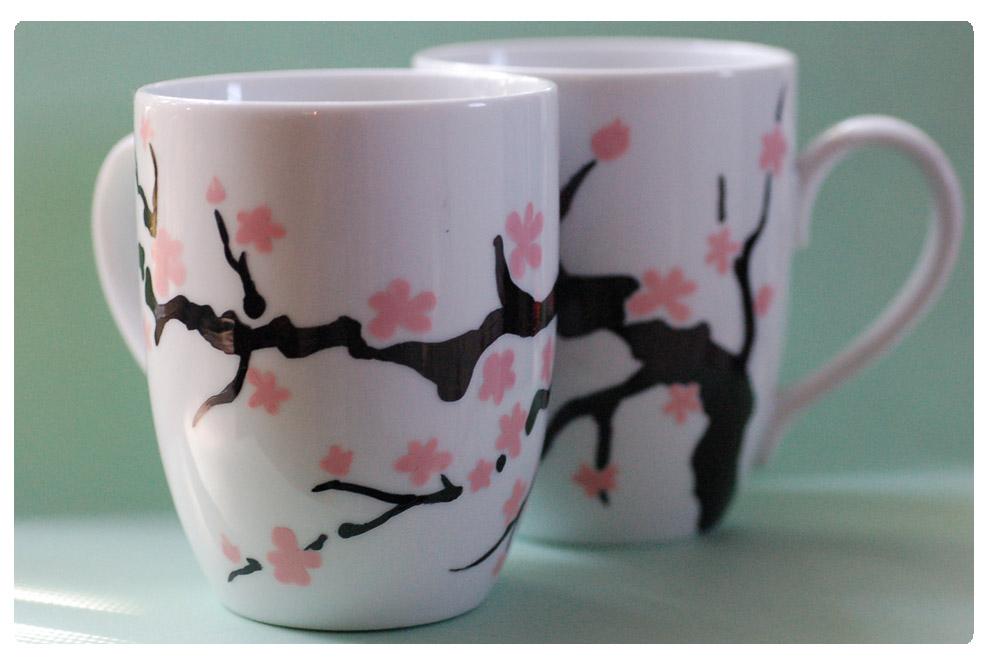 +Sakura Mug Set+ by nayruasukei