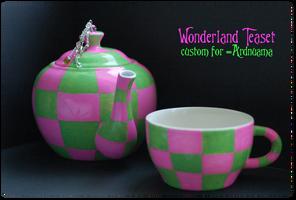 +Wonderland Teaset+ by nayruasukei