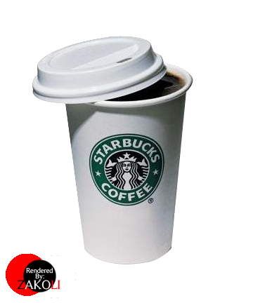 Starbucks Cup Render by zAkOLi