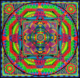 Kaleidoscope Mandala by billmd77