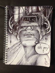 Sketch28: LIFE 4.0 by TheMightyGoat