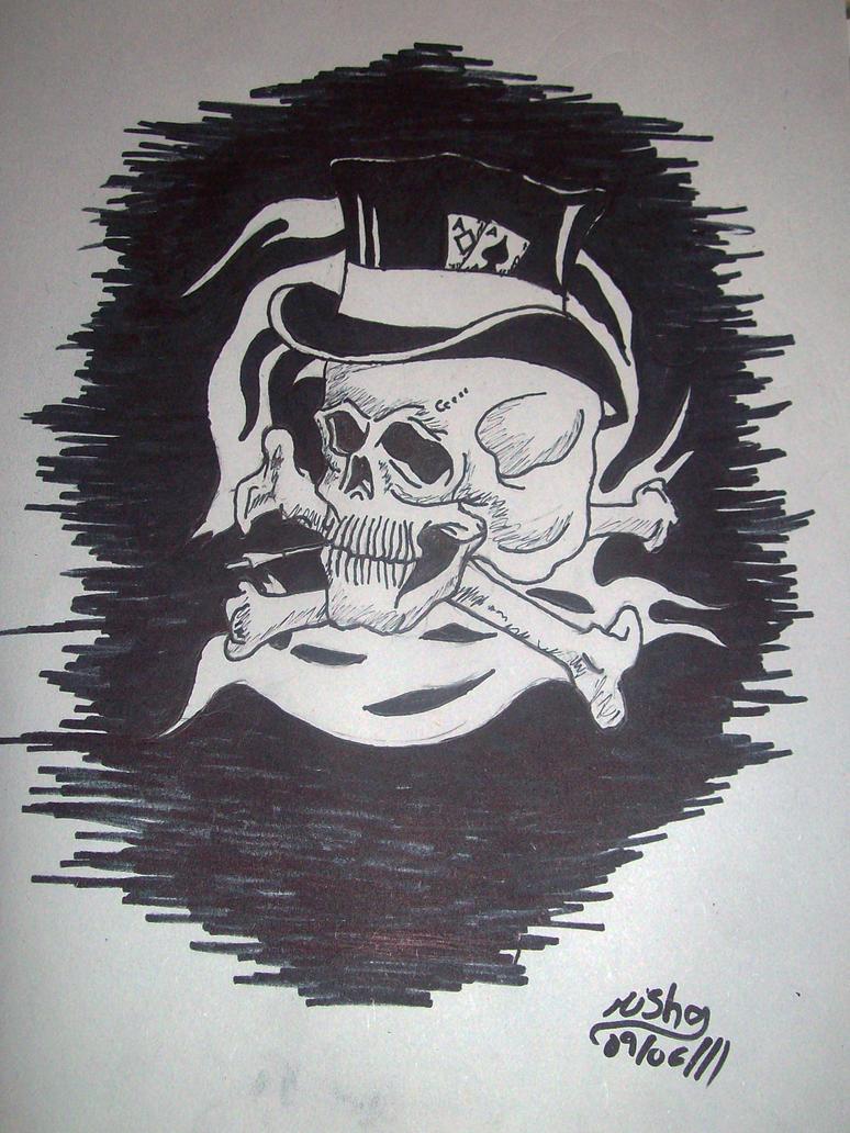 slash skull by Imagine-the-Creation on DeviantArt