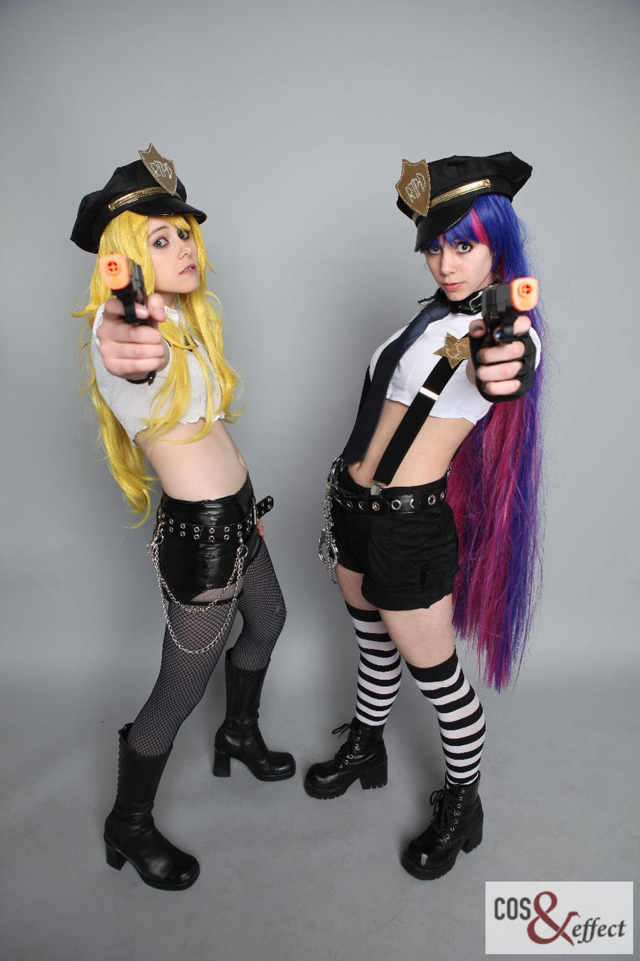Police Panty and Stocking by Emmaliene