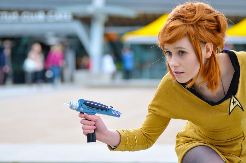 Captain Kirk by Emmaliene