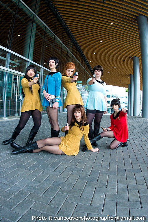 To Boldly Go Where No Woman Has Gone Before by Emmaliene