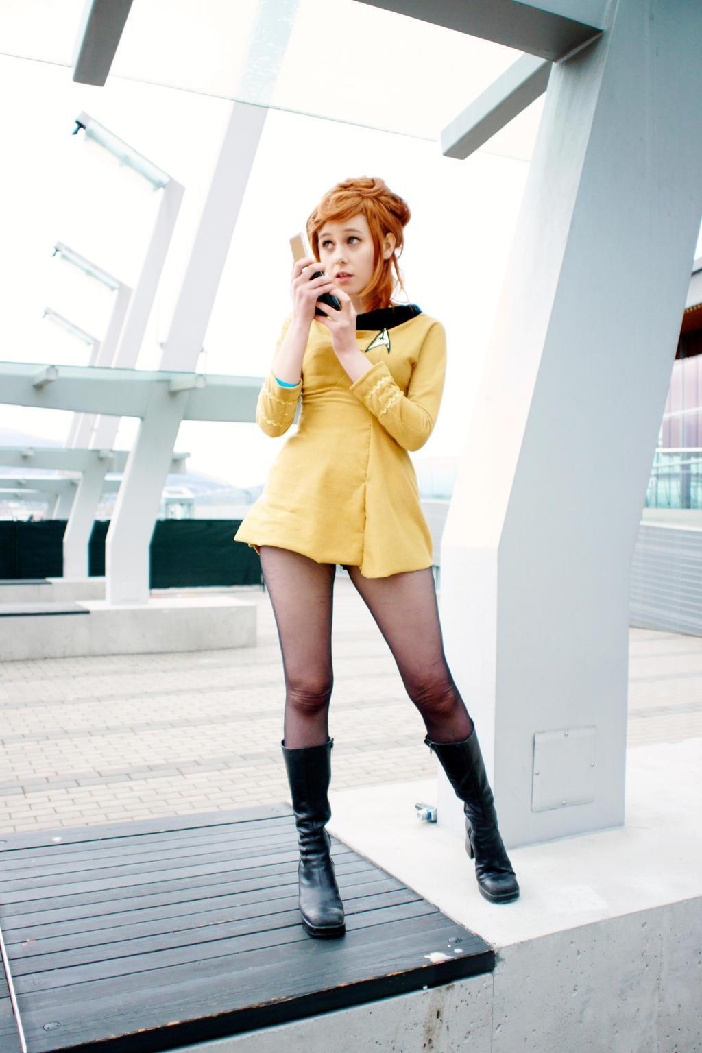 Kirk to Enterprise by Emmaliene