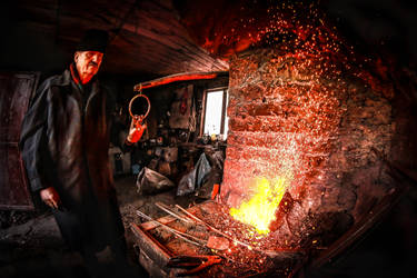 The Blacksmith by ioanabranisteanu