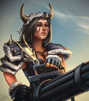barbarianna by Risel