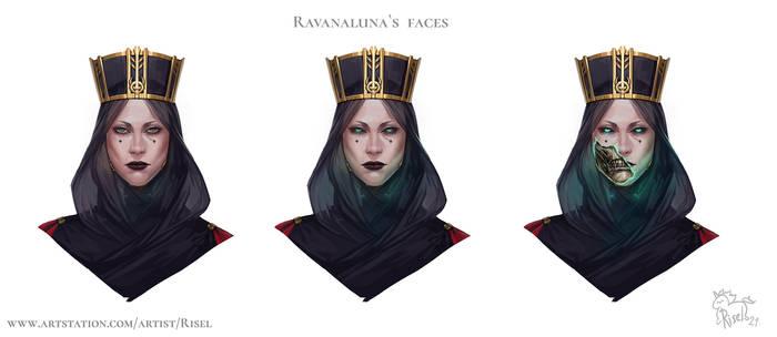 Ravanaluna`s faces
