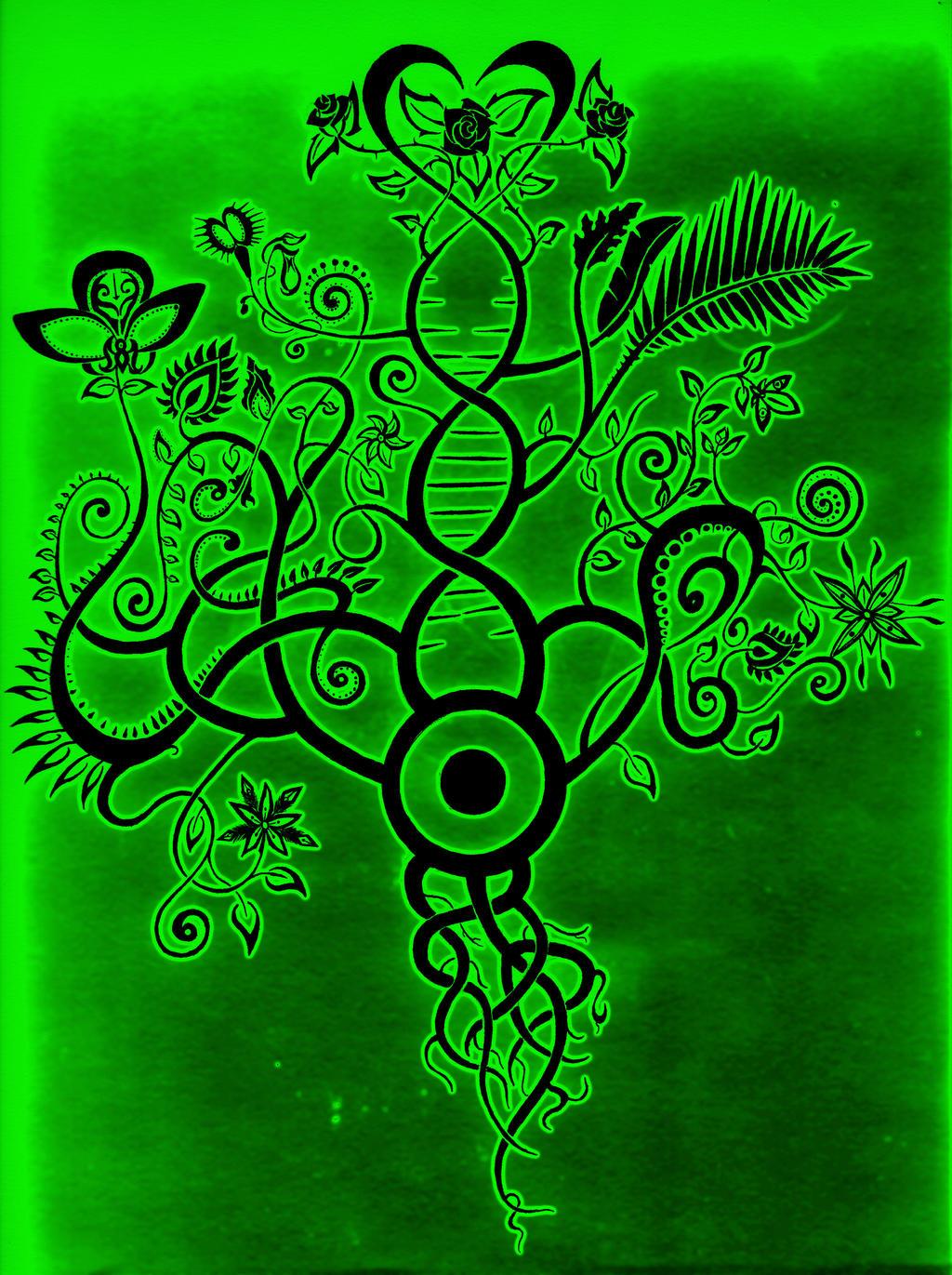 Growth Angiosperm by BlakSkull