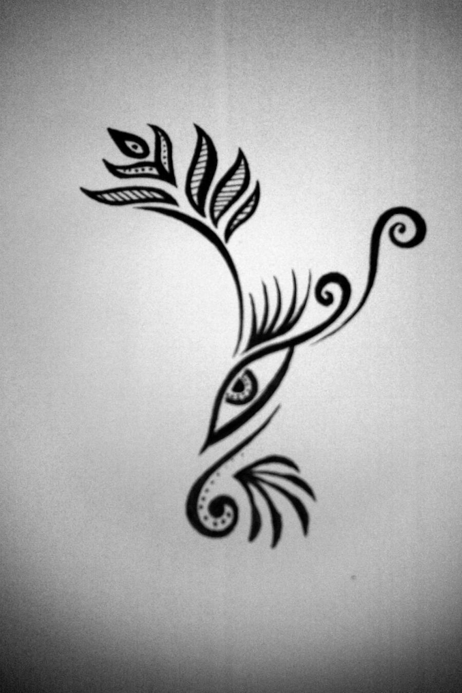 Henna Eye Tattoo: Henna Eye Thing By BlakSkull On DeviantArt