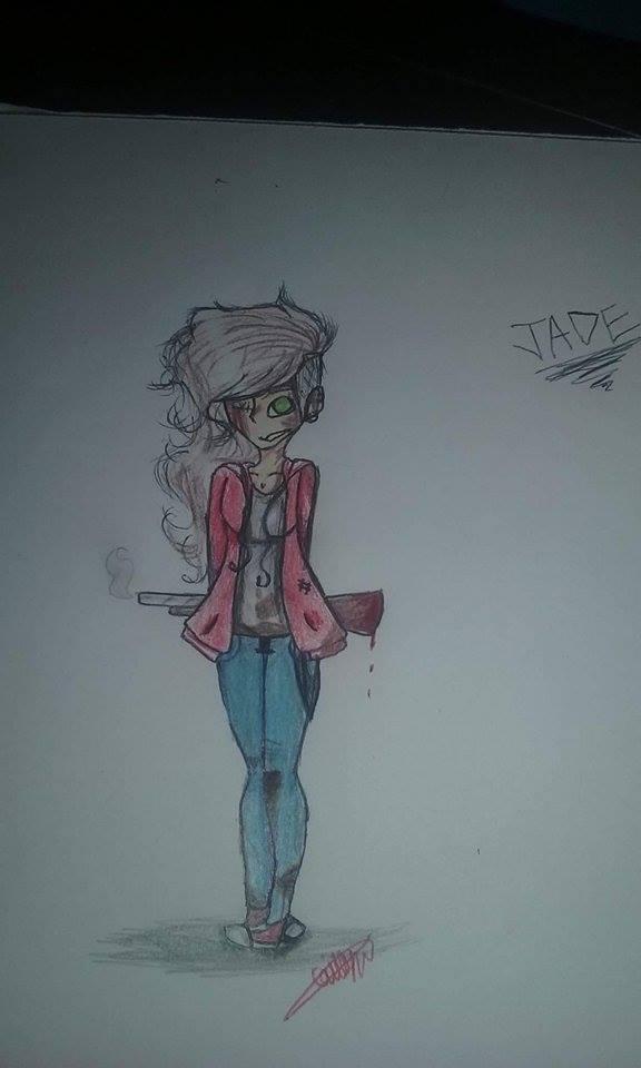 Jade Haren (Zombie outbreak oc) by TheOperatorsShadow