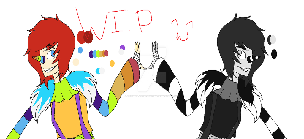 Two Sides Of A Clown {WIP} by TheOperatorsShadow
