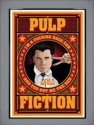 Pulp Fiction: The Hitman by MarkItZeroNET