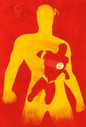 JLA: The Flash Minimalist by MarkItZeroNET