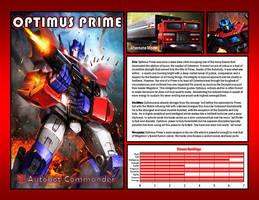 Optimus Prime by CitizenPayne